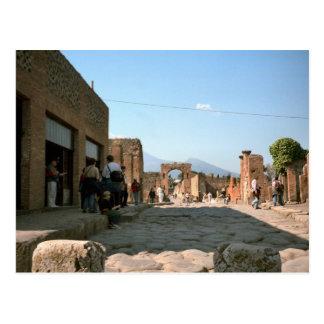 Pompeii, Stepping stones and gateways Postcard