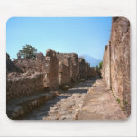 Pompeii, Street with high pavements Mousepads