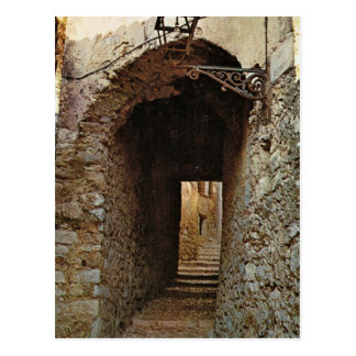 Pompeii, Syeps to upper city Postcard
