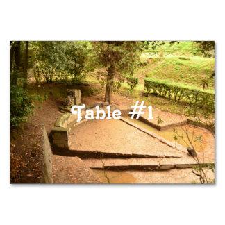 Pompeii Table Card