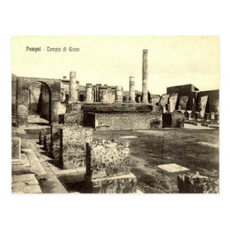 Pompeii, Temple of Jupiter Post Cards