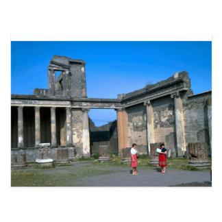 Pompeii, the Forum Postcard