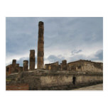 Pompeii - The remaining columns of ancient temple