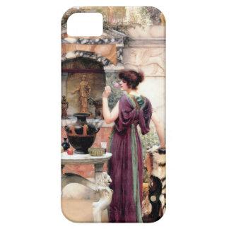 Pompeii Woman Godward garden Case For The iPhone 5
