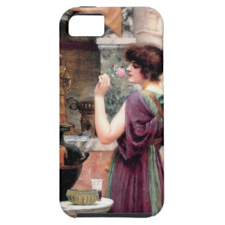 Pompeii Woman Godward garden iPhone 5 Cover