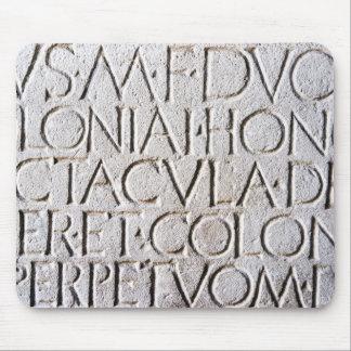 Pompeii Writing 3 Mouse Pad