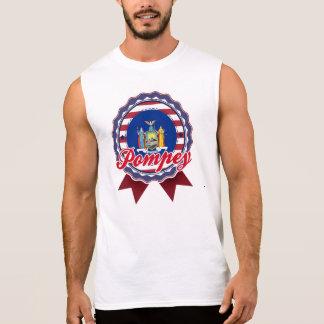 Pompey, NY Sleeveless T-shirt