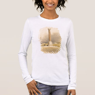 """Pompey's Pillar, Alexandria, from """"Egypt and Nubia Long Sleeve T-Shirt"""