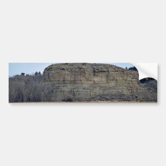 Pompeys Pillar Rock Bumper Sticker