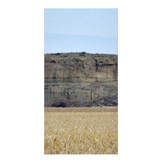 Pompeys Pillar Rock Custom Photo Card
