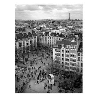 Pompidou Square Postcard