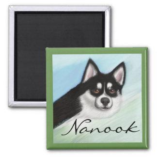 Pomsky Dog Magnet Customize