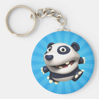 Pon Pon Basic Round Button Key Ring