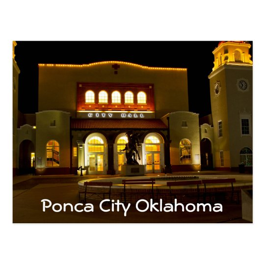 Ponca City 3 Postcard