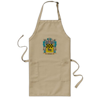 Ponce Coat of Arms - Family Crest Long Apron