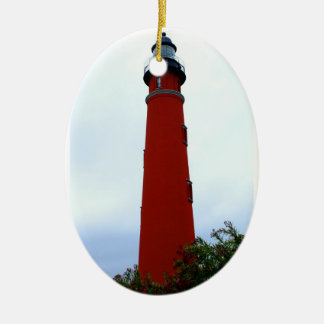 Ponce de Leon Inlet Lighthouse Christmas Ornament