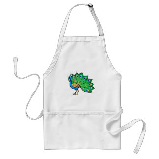 Ponce Peacock Standard Apron