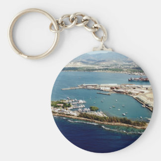 Ponce Puerto Rico Basic Round Button Key Ring