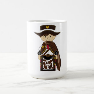 Poncho Cowboy Sheriff Coffee Cup