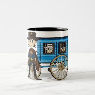Poncho Cowboy Sheriff Mug