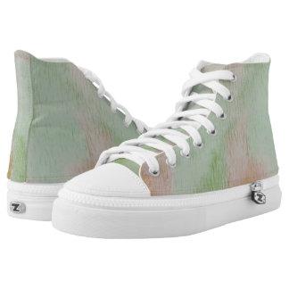 Pond and Seaweed Hi Top Printed Shoes