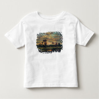 Pond at the Edge of a Wood Toddler T-Shirt