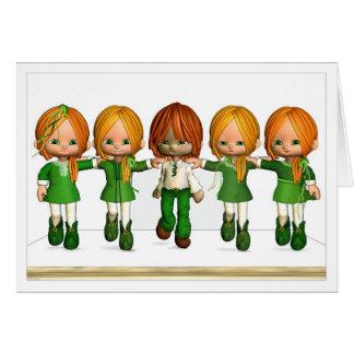 Pond Dance - St Patrick s Card