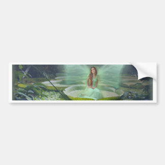 Pond Fairy Bumper Sticker