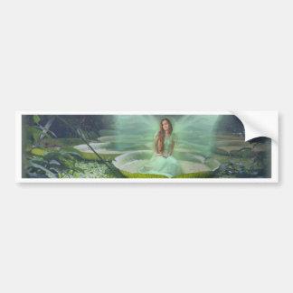 Pond Fairy Bumper Stickers