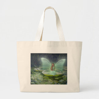 Pond Fairy Large Tote Bag