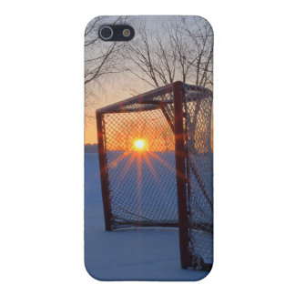 Pond Hockey Sunset iPhone 5/5S Cover