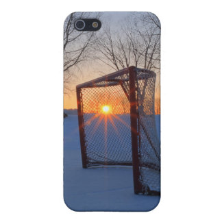 Pond Hockey Sunset iPhone 5 Case