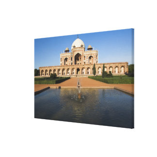 Pond in Front of a Tomb Canvas Print