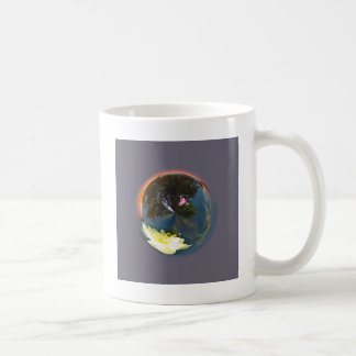 Pond in sphere coffee mug