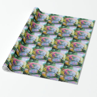 Pond in the garden of Monet Wrapping Paper