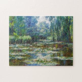 Pond & Japanese Bridge Monet Fine Art Jigsaw Puzzle