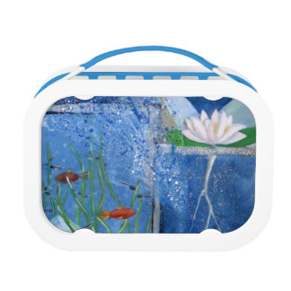 Pond Life Contemporary Art Lunch Box