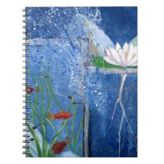 Pond Life Contemporary Art Notebook