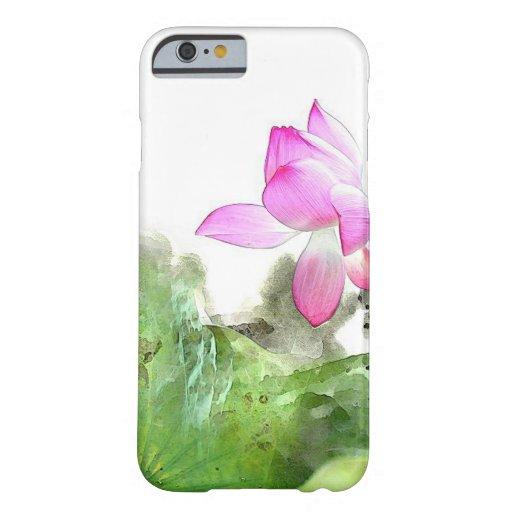 POND LOTUS l Chinese Brush Painting Art iPhone 6 Case