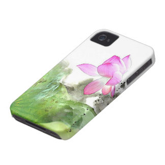 POND LOTUS l Chinese Brush Painting Art iPhone 4 Covers
