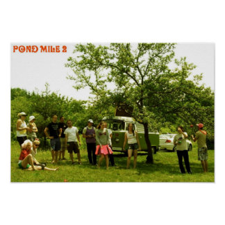 Pond mile 2 Woodstock Poster