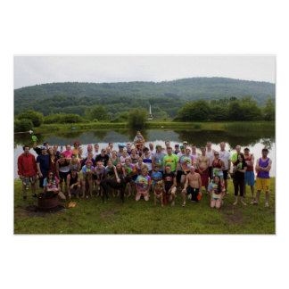 Pond Mile 4 Group Photo Poster