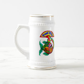 Pond Mile Logo Beer Stein