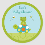 Pond Pals Frog Turtle Stickers Cupcake Toppers