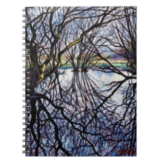 Pond Reflections 2009 Notebooks