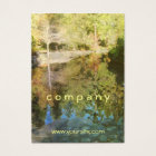 Pond Reflections Business Card