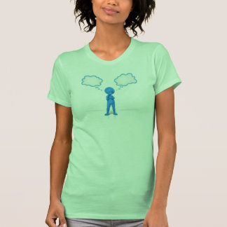 Pondering Two Thoughts T-shirt