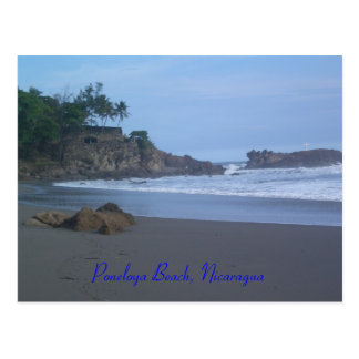 Poneloya Beach, Nicaragua Postcard