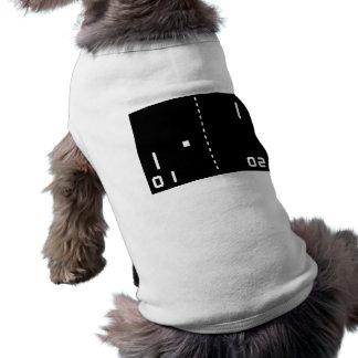 Pong Sleeveless Dog Shirt