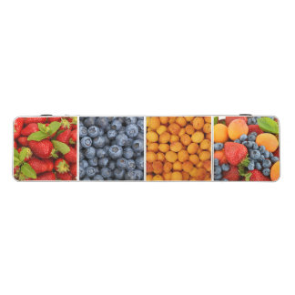Pong Table with fruits and berry print